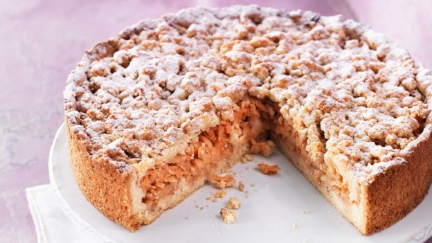 Birnen-Quitten-Kuchen