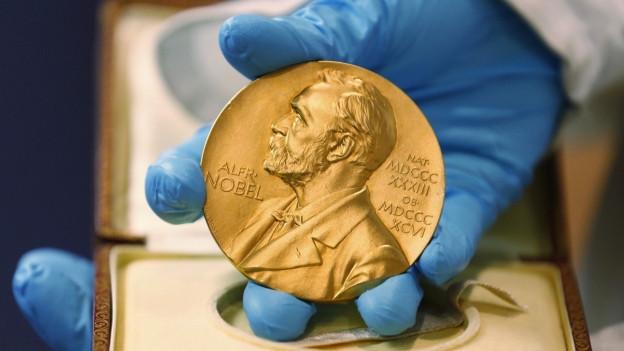 Der Nobelpreis wurde 1901 zum ersten Mal verliehen.