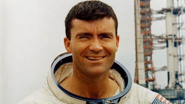 Fred Haise, ehemaliger Astronaut.