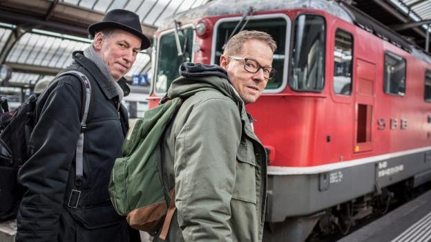 Thomas C. Breuer und Bänz Friedli
