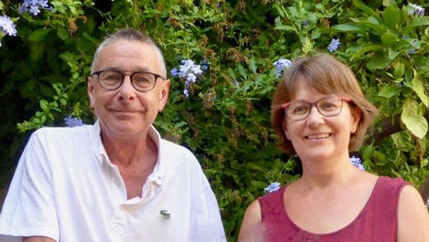 Hans Hürlimann und Christa Vogel