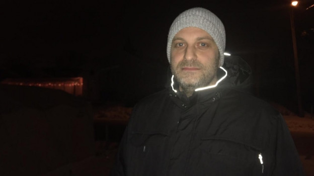 Christian Lehman mit Wintermütze