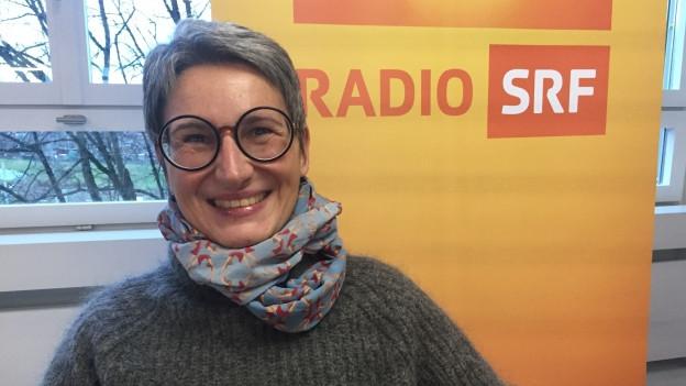 Paola Gallo, Geschäftsführerin «Surprise», bei Radio SRF 1.