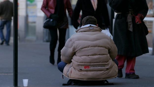 Armut gibt es auch in der Schweiz