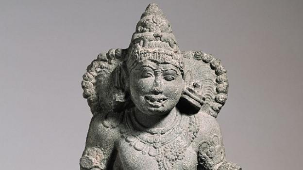 Tempelfigur aus Indien