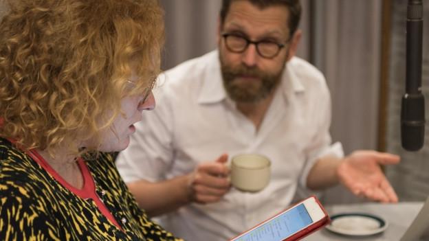 Fabienne Hadorn (Timo) und Samuel Streiff (Paps)