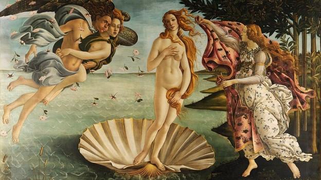 Die Geburt der Venus vor der Küste Zyperns