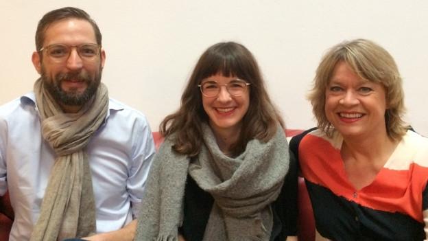 Mortitz Stiefel, Zippora Marti und Daniela Lager