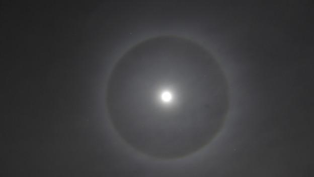 Nächtliche Mondaufnahme