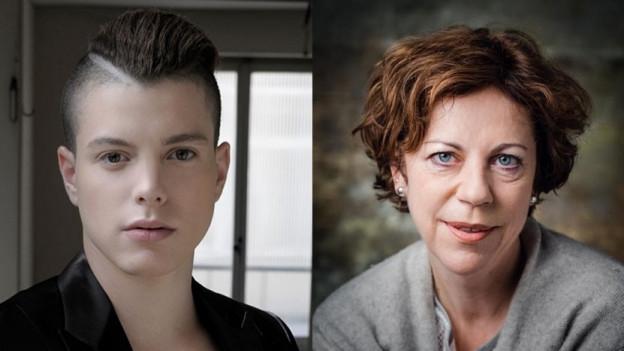 Porträt von Lucas Fischer und Sabine Boss