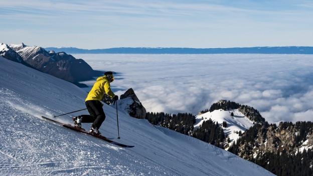 Telemark ist bei vielen Schneesportlern noch heute sehr beliebt.