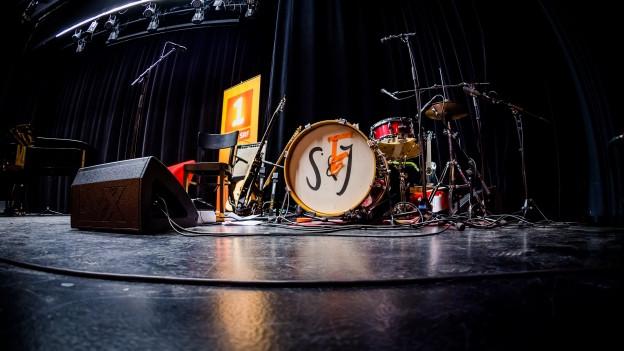 Schlagzeug von Schertenlaib und Gurtner