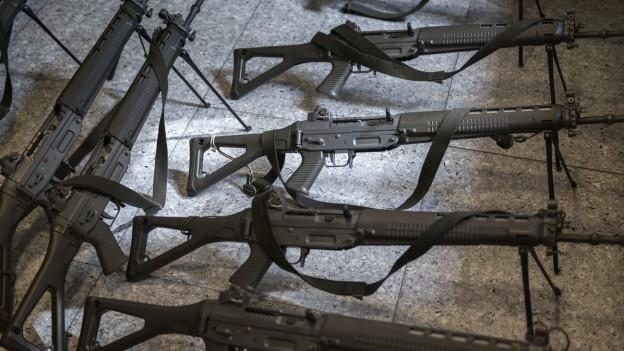 Schweizer Armeewaffen
