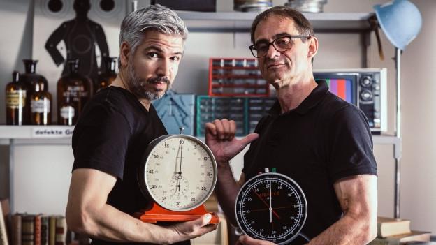 Krispin Zimmermann und Thomy Scherrer.