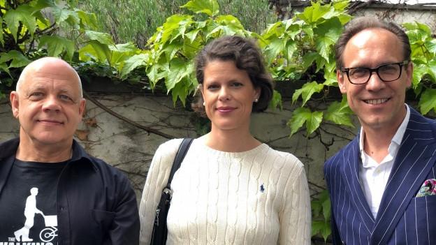 """""""Persönlich Gäste"""" von Christian Zeugin, Eva Scheurer und Olivier Truan"""