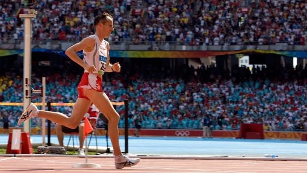 Viktor Röthlin bei den Olympischen Spielen in Peking 2008