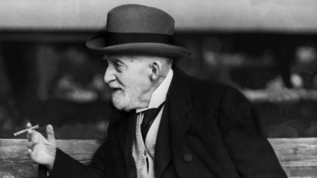 Bereits 1911 sagte Spitteler, dass er sich nicht primär als Schweizer verstehe, sondern als «Europäer».