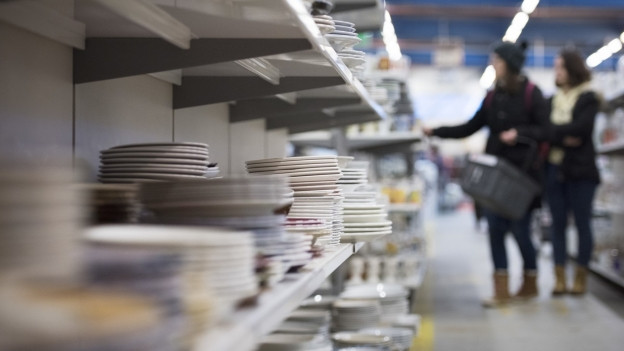250 Kunden kaufen in Gossau (SG) täglich Secondhand-Produkte.