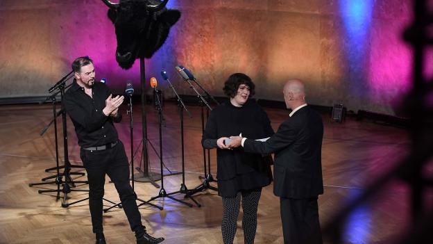 Salzburger Stier 2019 Preisträgerin Patti Basler