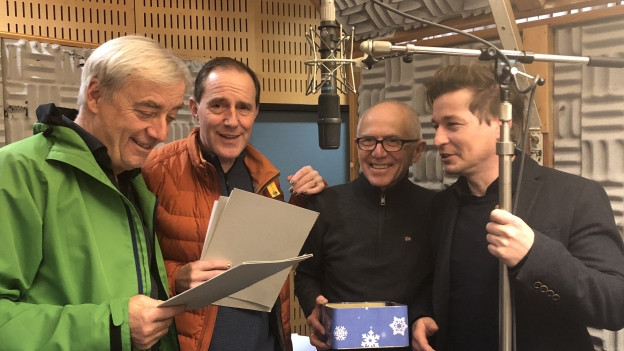 v.l.n.r.: Ueli Jäggi, Stephan Kurt, Geri Dillier und Arno Camenisch