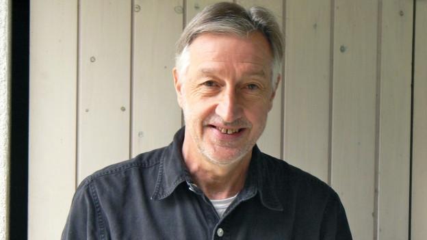 SRF 1-Hörer Viktor Steinhauser präsentiert sein Lieblingsrezept: Grüner Spargel mit Safran