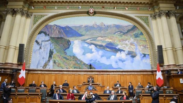 Am 20. Oktober wird das eidgenössische Parlament wieder neu bestellt.