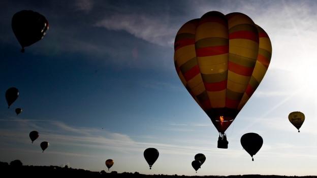 In Willisau starten insgesamt 25 Wettkampfballone.