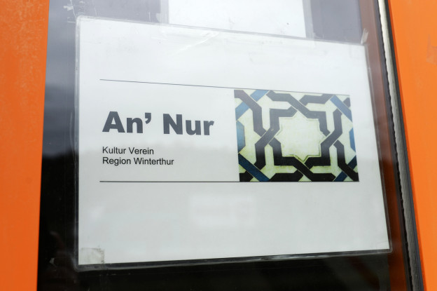 Ein Bild der An'Nur Moschee in Winterthur.