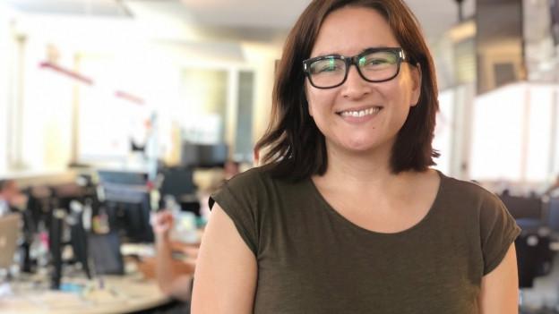 Emily Engkent im Newsroom von Watson
