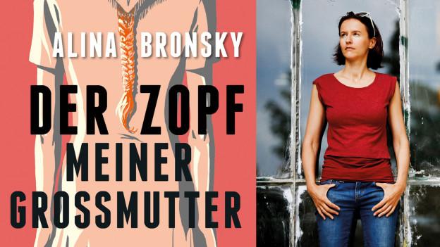 Buchcover und Alina Bronsky