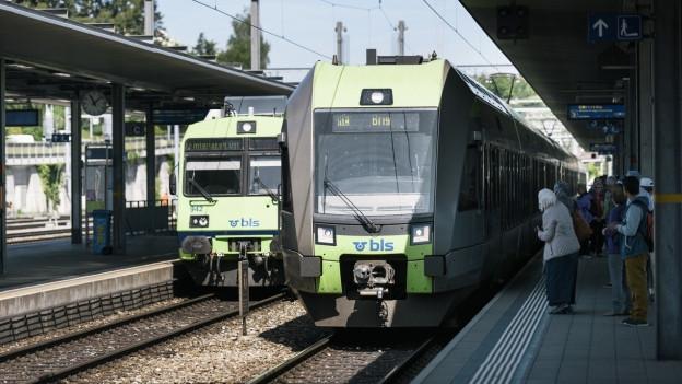 BLS Züge.