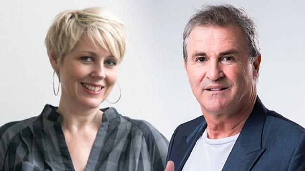 Silvia Aeschbach und René Rindlisbacher