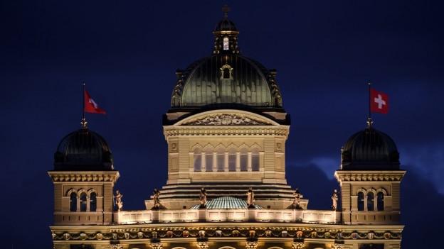 Das Schweizer Parlament besteht aus 200 NationalrätInnen und 46 StänderätInnen.