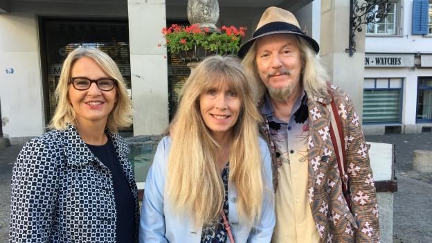 Wolfgang und Helene Beltracchi zu Gast bei Sonja Hasler (l)