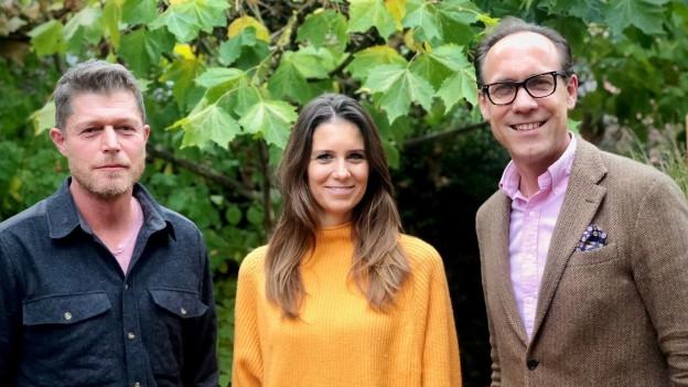 Marcel Heinrich und Annina Campell bei Christian Zeugin