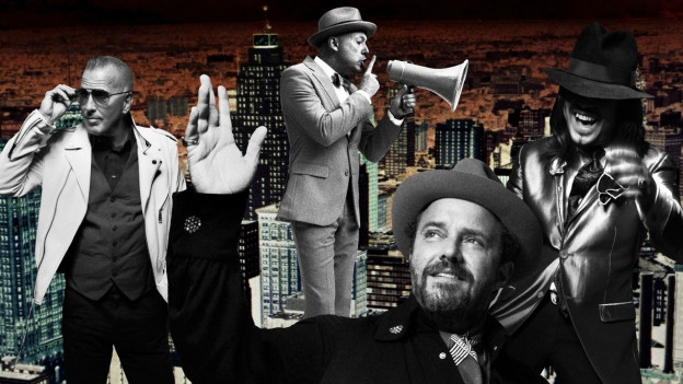The Mavericks in ihrem Element mit Covers von Country-Klassikern.