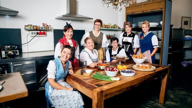 Gruppenbild der Landfrauen aus der Landfrauenküche.