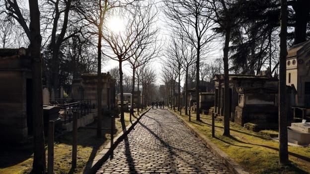Den Friedhof «Père Lachaise» in Paris besuchen jährlich drei Millionen Menschen.