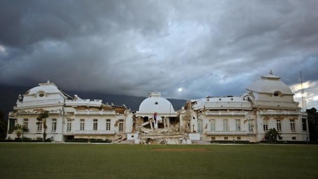 Symbol des Erdbebens 2010: Der Präsidentenpalast in Port-au-Prince