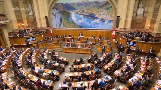 Blick in die aktuelle Bundesratswahl am 11.12.19
