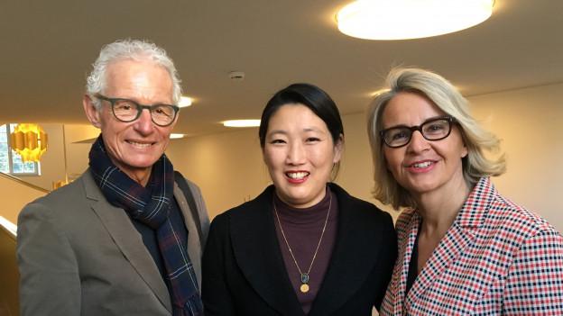 Markus Gygax, Tanja Oetterli und Sonja Hasler