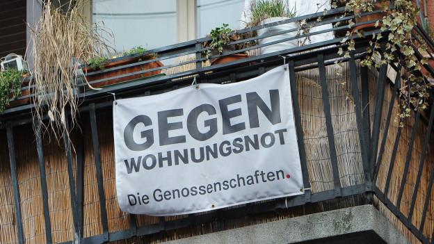 Abstimmung über mehr Genossenschaftswohnungen.