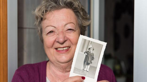 Simone Sieder hat lebhafte Erinnerungen an ihre Kindheit nach dem Krieg.
