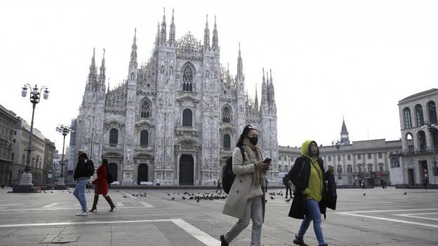 Atemschutzmasken sind ausverkauft, Reisen werden abgesagt oder umgebucht.