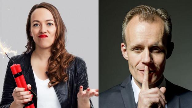 Lisa Catena und Max Uthoff