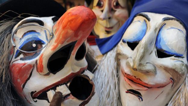 Masken Larven Fasnacht