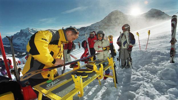 Der perfekte Ski