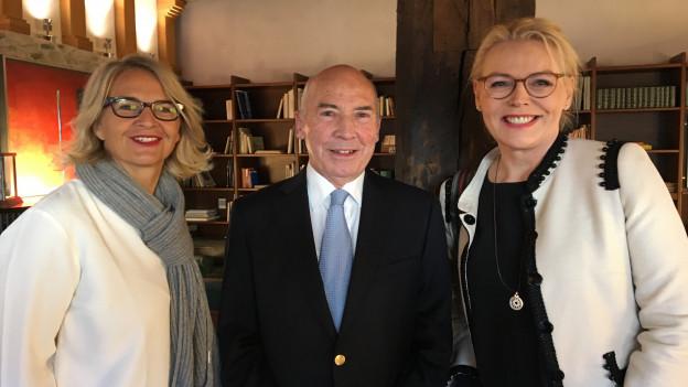 Sonja Hasler Markus Knoblauch und Katja Stauber