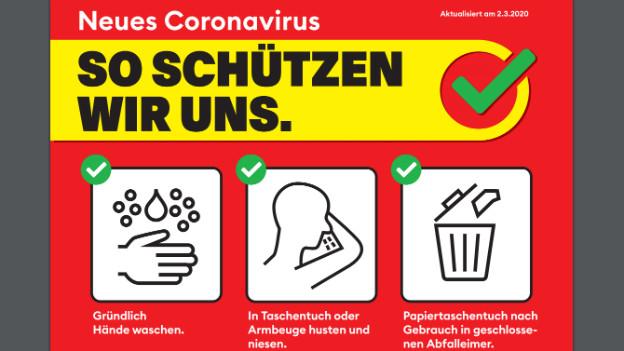 BAG-Kampagne Coronavirus