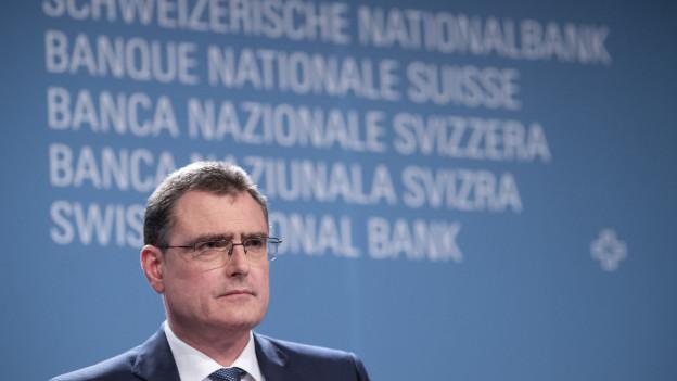 Thomas Jordan, Praesident des Direktoriums der Schweizerischen Nationalbank SNB